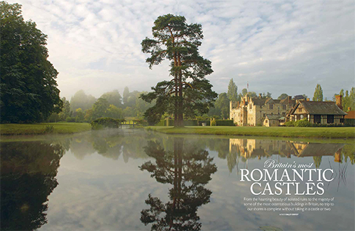 Britain's most romantic castles feature from the BRITAIN 2017 Guide