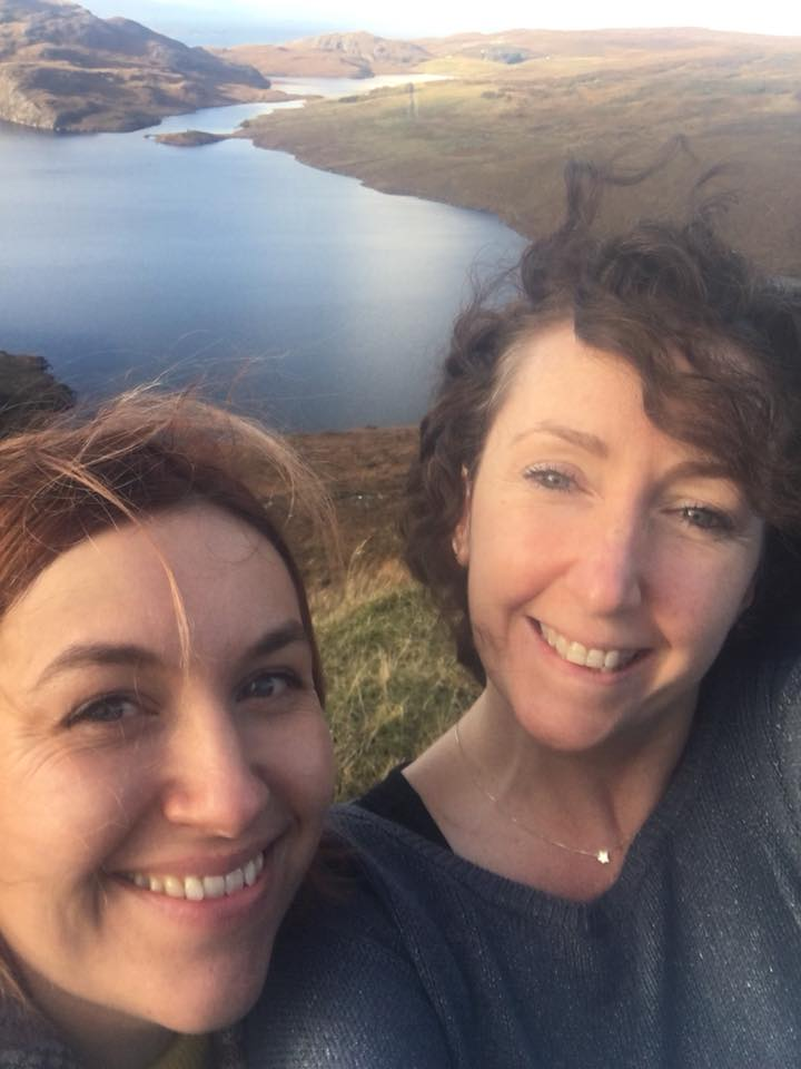 Sally and Chelly Loch Torridon, Wester Ross, Scotland